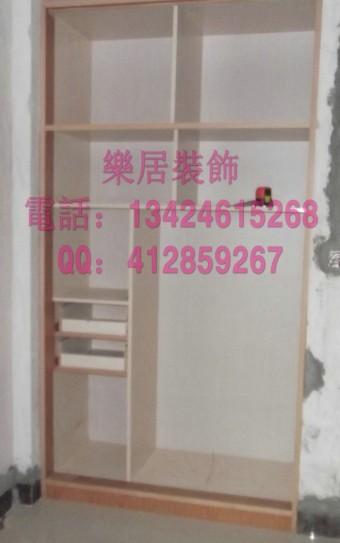 乐居装饰 木工工艺半成品图 专业室内装修