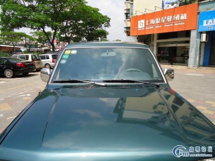 售一手越野车 顶配三菱帕杰罗v33 进口 收腰版佛山牌绿标高清图片