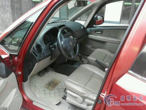 .45万 出售铃木天语SX4两箱08款1.6 自动 锐骑豪华型 红色高清图片